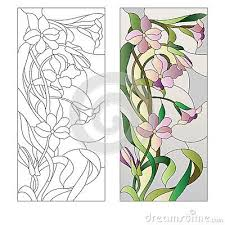 dreamstime com stained glass flower