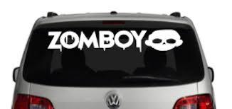 Amazon Com Zomboy Vinyl Decal Dj Car Truck Laptop Vinyl Sticker Handmade