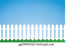 White Picket Fence Clip Art Royalty Free Gograph