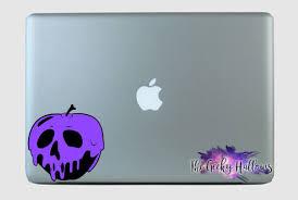 Poisoned Apple Snow White Fairy Tale Princess Purple Black Color Way Car Vinyl Decal Sticker
