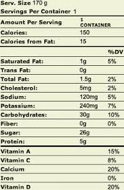 original lowfat la yogurt probiotic