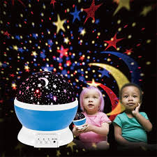 Sun And Star Moon Projector Rotating Night Light Lamp For Kids To Sleep 4 Led Bead 360 Degree Romantic Rotating Night Sky Cosmos Star Projector For Christmas And Festival In Bedroom Living