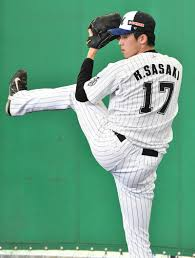 Sasaki's uniform number is 17.