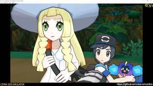 Citra 3DS Emulator - Pokémon Sun and Moon ingame 1080p - YouTube