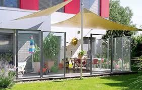 Windfix Glass Screen Wind Deflector Garden Fence Wind Guard Privacy Screen Border 720 30 Cm Amazon Co Uk Garden Outdoors