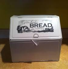 Bread Box Bread Box Label Vinyl Decal Sticker 6 X 2 Bread Box Label Bread Boxes Takeout Container Bread