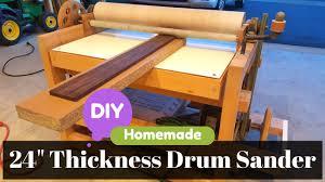 thickness drum sander
