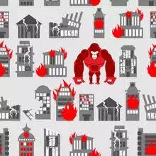 2 420 King Kong Wall Murals Canvas Prints Stickers Wallsheaven