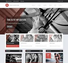 fit wordpress theme for fitnesses