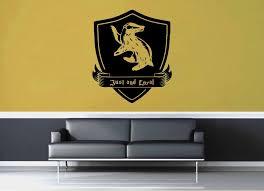 Hufflepuff Crest Harry Potter Wall Decal Geekerymade