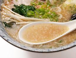 perfect bowl of tonkotsu ramen
