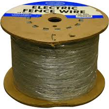Farmgard 1 2 Mile 14 Gauge Electric Fence Wire 317772a The Home Depot