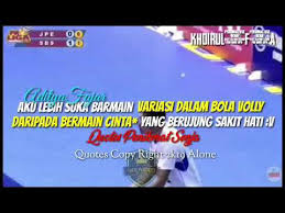 story wa anak volly