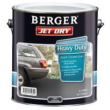 berger jet dry 4l heavy duty deep