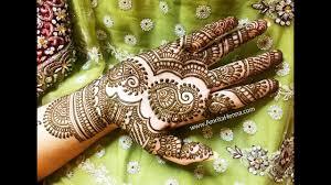 new mehndi design bridal 2018