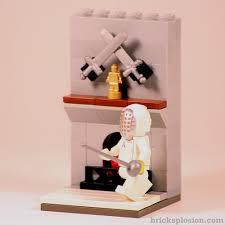 Lego Minifigure Series 13 Vignette Habitat For The Fencer Bricksplosion