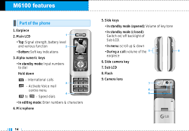 LG Electronics USA M6100 GSM 900/1800 ...
