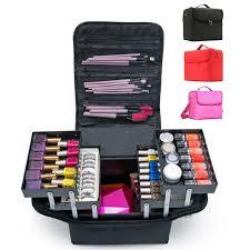 travel makeup train case jewelry box