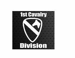 1st Cavalry Division Car Vinyl Window Decal Sticker U S Army 3 75 Picclick