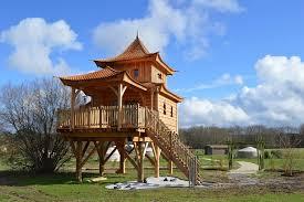 Cabane Asiatique - Nidperché, constructeur de cabane