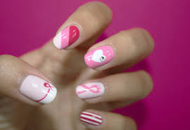 nail spa for t cancer awareness