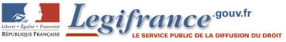 Légifrance : Le service public de la diffusion du droit - Fiches ...