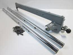 Rockwell Delta Jet Lock Fence And Guide Rail Assembly The Fence Is Complete With Lock And Pinion The Pinion Gear Delta Table Saw Table Saw Rockwell Table Saw