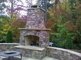 fireplace kits outdoor fireplaces and