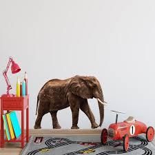 African Elephant Vinyl Wall Decal Pas13