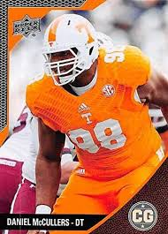Daniel McCullers Football Card (Tennessee Volunteers) 2014 Upper ...