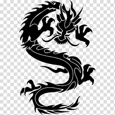 Dragon Logo Decal Sticker Wall Decal Chinese Dragon Vinyl Group Wall Sticker Decal Bumper Sticker Transparent Background Png Clipart Hiclipart