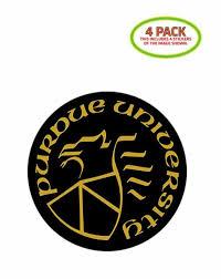 Purdue University Sticker Vinyl Decal 4 Pack For Sale Online