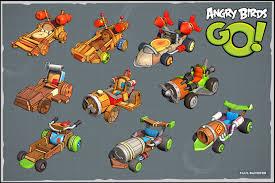 Angry Birds Go, Paul Banister on ArtStation at https://www ...