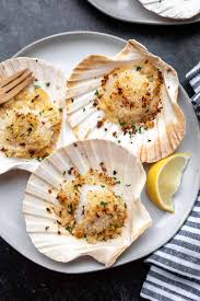Easy Baked Scallops (Dairy Free ...