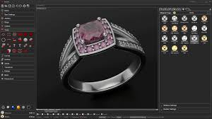 interactive jewelry panther cad