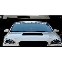 Subaru Windshield Banner Decal Midwest Sticker Shop