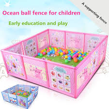 Play Fence Safety Yard Baby Playpen Gate Shopee Philippines