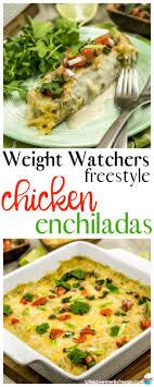 weight watchers en enchiladas