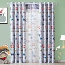 Lovely Cartoon Car Curtains For Living Children Room Bedroom Curtains Decorative Curtains For Kids Baby Room Drapes Inoava Com