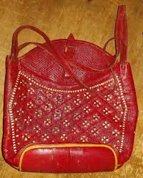 tandy safari leather handbag purse kit