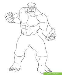 Bộ tranh tô màu hulk - người khổng lồ xanh - Jadiny