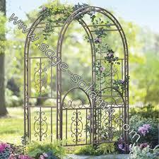 decoration western metal garden arch