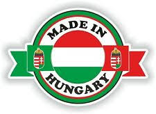 Hungary 9 Stickers Set Flag Decal Bumper Sticker Car Bike Laptop Hu Parts Accessories Graphics Decals