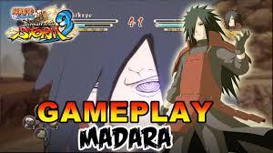 Naruto Shippuden Ultimate Ninja Storm 3 - X360 / PS3 - Madara Gameplay -  YouTube