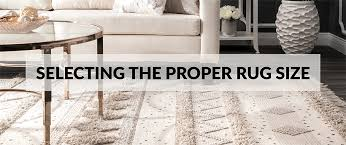 rug size guide select the proper rug