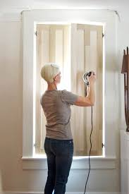 how to build interior window shutters