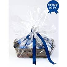 gift baskets clear basket bags