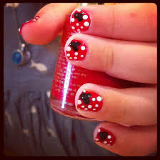 Pin by Nicole Schultz Cardillo on Things I've tried from Pinterest | Mickey  mouse nail art, Mickey nails, Mickey mouse nails
