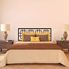Modern Headboard Wall Decal Master Couple Bedroom Vinyl Art Removable Decor Idea 23inx60in Headboard Wall Decal Wall Decalsheadboard Modern Aliexpress