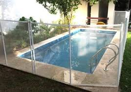 White Swimming Pool Fences Baby Guard Pool Fence In 2020 Pool Fence Pool Swimming Pools